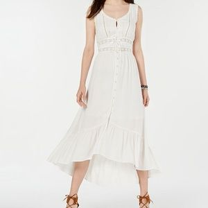 American Rag Tiered White Maxi Dress